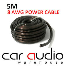 5 Meter 8 AWG BROWN Car Amplifer Amp 8 Gauge 10mm Power Earth or Ground Cable