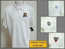 New Sz S-3XL White Nba Mens Polyester Golf #36P Polo Shirt