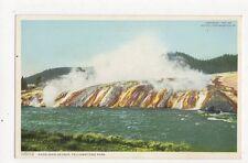 Excelsior Geyser Yellowstone Park USA Vintage Postcard 316a