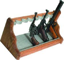Liberty Safe 8 Gun Oak Pistol Rack Shelf Silver Pin-Dot Velour Bnib