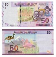 Bolivia 500 Pesos Bolivianos P 165a 1981 UNC Low Shipping Series A P 165 a