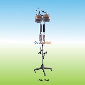 2*230W Stehende TDP Lampe Infrarotwärme Mineral Therapie Doppelkopf TDP Lamp CE