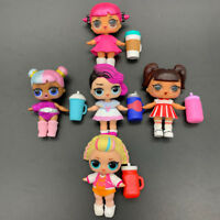 Lot 5X LOL Surprise Dolls with Random Dress Shoes Bottle Doll Accessories Gifts