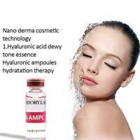 10pcs*5ML Strong Hyaluronic Acid Serum Anti Wrinkle Moisturiser Face Gel Q2K3