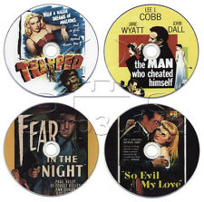 Film-Noir Movie DVD Collection: Fear in the Night, So Evil My Love, Trapped.....
