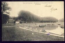cpa Ecrite en 1903 PARC de VERSAILLES Le TAPIS VERT CANAL de la FLOTILLE