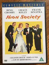BING CROSBY GRACE KELLY FRANK SINATRA ALTA SOCIEDAD ~ 1956 Hollywood Musical DVD