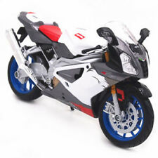 Maisto Aprilia RSV 1000R Bike Motorcycle 1:12 31036 White