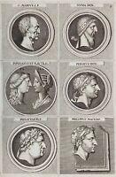 Numismatik Gaius Marius Philipp Mazedonien Antike Papinian Perseus Numa 1690
