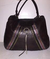"Red Herring Designers Debenhams Dark Brown Leather Tote Shoulder Bag-W16""X 13"" H"