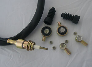 """MGF MG TF GEAR CABLE REPAIR KIT """"ONE"""" CABLE SET OF CONNECTORS INCL GAITER UK CO"""