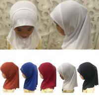 Enfants islamique musulman Hijab écharpe Moyen-Orient strass arabe coiffure