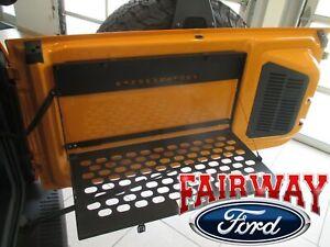 21 thru 22 Bronco Ford Black Folding Swing Gate Table