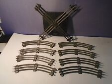 AMERICAN FLYER O GAUGE TRACK LOT W/ CROSSOVER