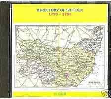GENEALOGY DIRECTORY OF SUFFOLK 1793 - 1798