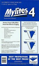 50 - Mylites4 - Current Comic - Heavy Duty - Mylar Protective Comic Sleeves