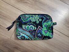Vera Bradley Blue Rhapsody Cosmetics Bag Travel Mini