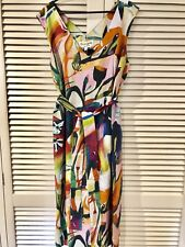 "New! Stunning GORMAN ""Shadow Garden"" Dress -  size 14"