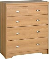 Teen's Bedroom Modern 5 Chests of Drawers