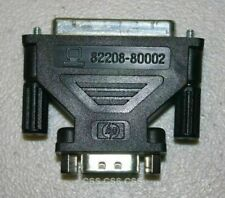 Hp 48 Series 82208-80002 Db9 to Db25 Connector Adapter for Hp Calculator; Black