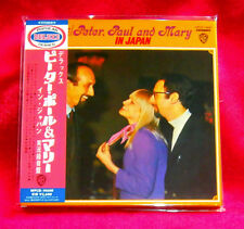Peter Paul & Mary In Japan MINI LP CD JAPAN WPCR-14600