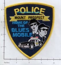 Illinois - Mount Prospect IL Police Dept Patch - Home of the Blues Mobile