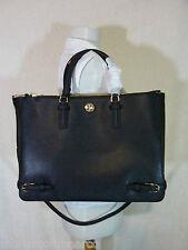NWT Tory Burch Black Saffiano Leather Large Robinson Multi Tote - $595