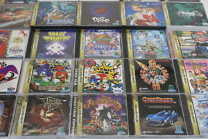 SEGA Saturn Game SS Japan Import US Seller Sold Individually Updated 10/21/21 #1