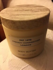 French Connection London Body Butter Large Size 200ml New