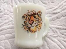 Tiger Coffee Cup Anchor Hocking Fireking Ware