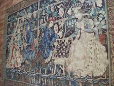 Großer Aubusson Tapisserie Wandteppich Tapestry 262x177 cm