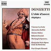 Donizetti: L'elisir d'amore (highlights), , Very Good CD