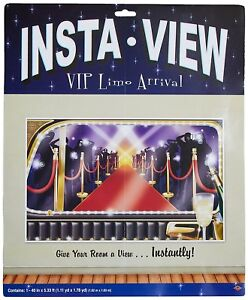 VIP Limo Arrival Awards Night Hollywood Theme Party InstaView Wall Decoration