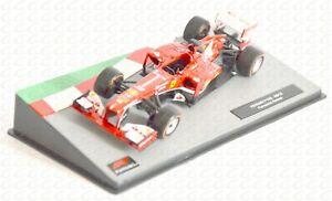 IU73 Modellino auto da corsa F1 1/43 2013 FERRARI F138 #3 Fernando Alonso