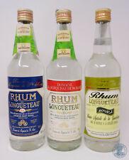 Rum/Rhum Agricole de la Guadeloupe LONGUETEAU - 3 pezzi diversi