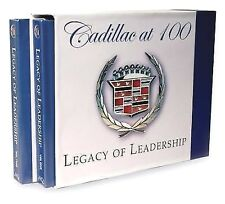 Book Cadillac at 100 Legacy of Leadership by Maurice D. Hendry Volumes 1 & 2 GM