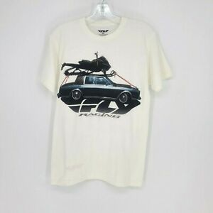 Fly Racing Mens Short Sleeve Cotton T Shirt Size Small new without tags