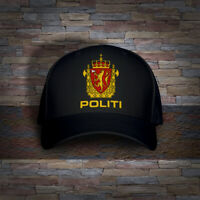 Norway Norwegian Police Politi Embro Cap Hat