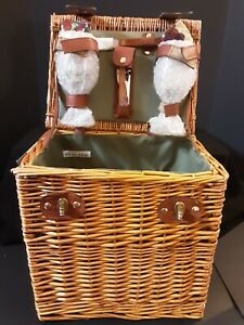 Brand New Picnic Time Vino Wine And Cheese Picnic Basket For Two