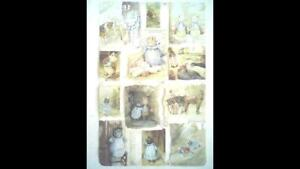 """Beatrix Potter Collage Sheet """"The Tale of Pigling Bland,"""" No: 1784. by F.Warne."""