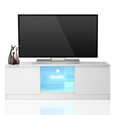 Multi-function TV Unit Cabinet Stand with LED Lights Shelves Home Furniture OT70