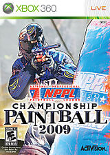 NPPL Championship Paintball 2009 - Xbox 360 Brand New Factory Sealed!!