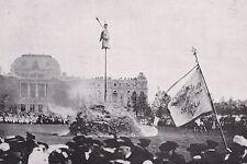 Zürich - Sechseläuten und Böögg-Verbrennung - um 1920 oder älter - SELTEN