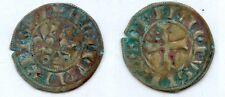 Gertbrolen Philippe IV dit Le Bel (1285-1314) Double Tournois  Exemplaire N° 2