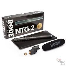 RODE NTG-2 Shotgun Condenser Video Camera Boom Pole Microphone Mic NTG2