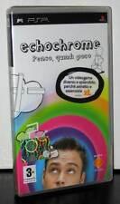 ECHOCHROME PENSO QUINDI GIOCO GIOCO USATO PER PSP EDIZIONE ITALIANA PAL 28410