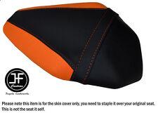 Diseño 2 Negro Naranja Vinilo Personalizado Para Kawasaki ZX10R 1000 16-17 Funda de Asiento Trasero