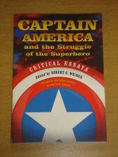 CAPTAIN AMERICA STRUGGLE OF THE SUPERHERO CRITICAL ESSAYS 9780786437030