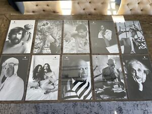 """Apple """"Think Different"""" Set of 10 Posters 11"""" x 17"""""""