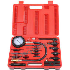 17pc Diesel Direct and Indirect Engine Compression Pressure Tester Gauge